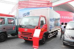 一汽解放 501-Q系列 110马力 4.28米单排厢式轻卡 卡车图片