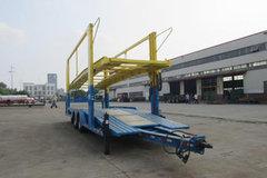 中集牌 12米中置轴车辆运输半挂车(ZJV9150TCL)