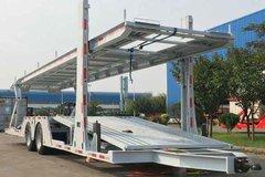中集牌 12米中置轴车辆运输半挂车(ZJV9182TCLQD)