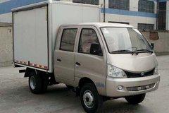 北汽黑豹 Q7 1.5L 112马力 汽油 2.51米双排翼开启厢式微卡(BJ5036XYKW50JS) 卡车图片