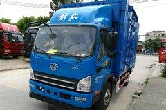解放 虎VH 大王版 160马力 3.85米排半厢式载货车(法士特8挡)(CA5049XXYP40K2L1E5A84) 卡车图片