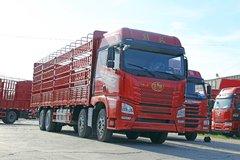 青岛解放 JH6重卡 350马力 8X4 9.5米仓栅式载货车(CA5310CCYP25K2L7T4E5A80)图片