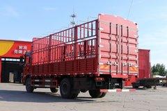 陕汽重卡 德龙L3000 220马力 4X2 6.75米排半仓栅式载货车(SX5160CCYLA1)