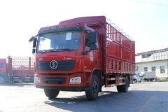 陕汽重卡 德龙L3000 220马力 4X2 6.75米排半仓栅式载货车(SX5160CCYLA1) 卡车图片