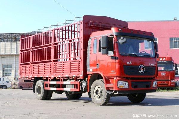 陕汽重卡 德龙L3000 旗舰版 4X2 厢式载货车(国六)