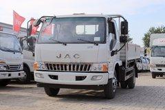 江淮 骏铃E6 156马力 3.85米排半栏板轻卡(HFC1043P91K2C2V) 卡车图片