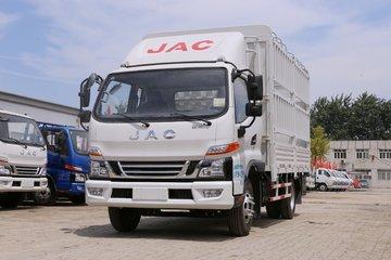 江淮 骏铃V6 154马力 3.85米排半仓栅式轻卡(HFC5100CCYP91K1C2V)