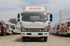 江淮 骏铃V6 154马力 3.85米排半仓栅式轻卡(HFC5043CCYP91K2C2V) 卡车图片