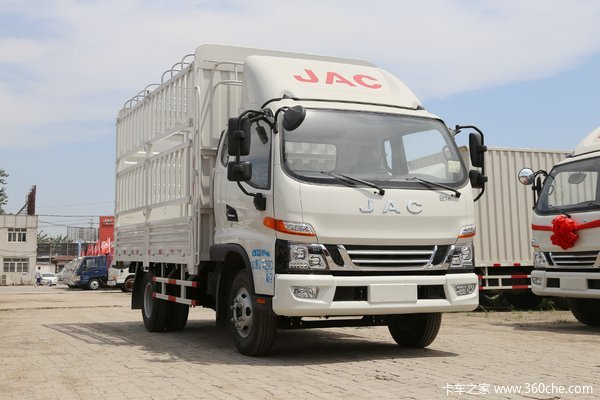 降价促销江淮骏铃V6载货车仅售10.28万
