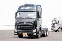 现代商用车(原四川现代) 创虎XCIENT重卡 440马力 6X2R牵引车(16挡)(CHM4250KPQ46V) 卡车图片