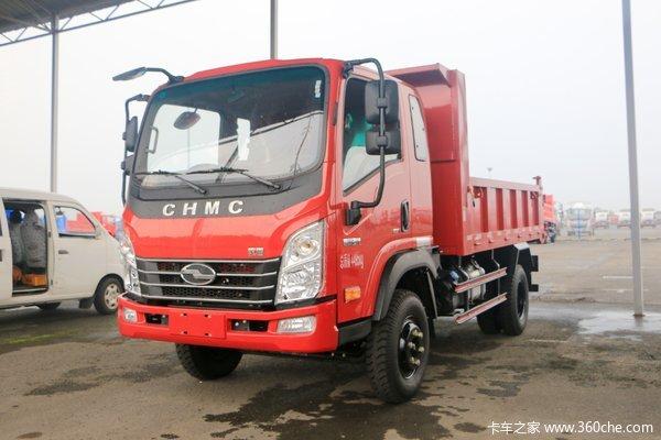 现代商用车 致道300N 116马力 4X2 3.55米自卸车