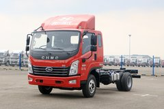 四川现代 致道500M 130马力 3.835米排半仓栅轻卡(CNJ5041CCYQDA33V) 卡车图片