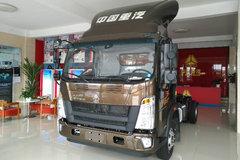 中国重汽HOWO 统帅 130马力 4.165米单排栏板轻卡(ZZ1047F341CE145A)