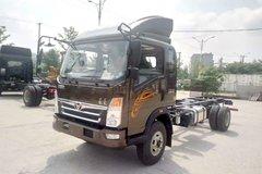 中国重汽 豪曼H3 170马力 5.5米排半仓栅式轻卡(ZZ5168CCYF17EB1) 卡车图片
