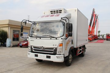 中国重汽 豪曼H3 160马力 4.1米单排冷藏车(ZZ5048XLCG17EB0)