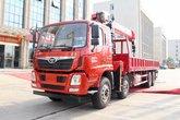 中国重汽 豪曼H5 310马力 8X4 随车吊