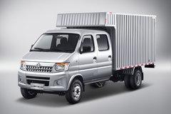 长安轻型车 神骐T20L 2018款 舒适型 1.5L 112马力 汽油 3.05米双排厢式微卡(SC5035XXYSNAB5) 卡车图片