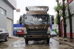 中国重汽HOWO 统帅 标载版 154马力 4.15米单排仓栅式轻卡(ZZ5047CCYF341CE143)