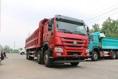 中国重汽 HOWO重卡 380马力 8X4 8.2米自卸车(ZZ3317N4667E1) 卡车图片