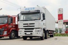 东风柳汽 乘龙M5重卡 270马力 6X2 9.6米厢式快递车(LZ5250XXYM5CB)