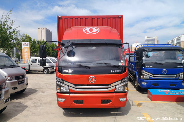 仅售11.58万东风多利卡D6载货优惠促销