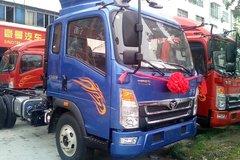 中国重汽 豪曼H3 143马力 3.85米排半仓栅式轻卡(ZZ5048CCYF17EB1) 卡车图片