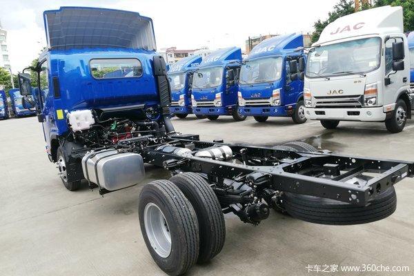 江淮 帅铃Q6 130马力 4.12米单排厢式轻卡(HFC5043XXYP71K4C2V-1)