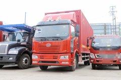 一汽解放 J6L中卡 160马力 7.7米厢式载货车(法士特)(CA5160XXYP62K1L5E5)图片