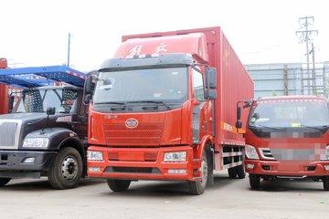 一汽解放 J6L中卡 180马力 7.7米翼开启厢式载货车(FXC5160XYKP62L4E5)