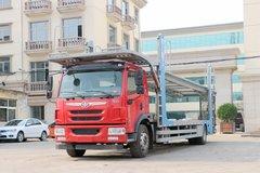 青岛解放 龙V中卡 220马力 4X2 车辆运输车底盘(CA5189XXYPK2L7BE5A80) 卡车图片