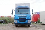 青岛解放 龙V中卡 160马力 6.75米排半厢式载货车(CA5169XXYP40K2L6E5A85)