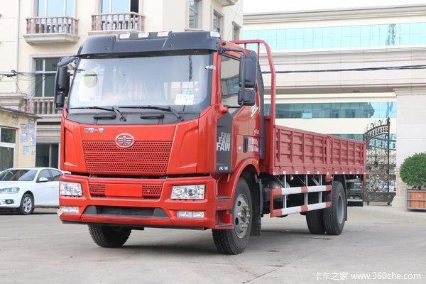 一汽解放 J6L中卡 2018款 质惠版 180马力 4X2 6.75米栏板载货车