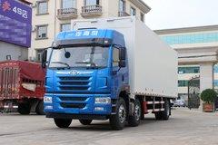 青岛解放 悍V重卡 260马力 6X2 9.5米翼开启厢式载货车(CA5250XYKP1K2L7T3E5A80) 卡车图片