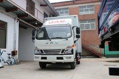 江淮 骏铃V6 156马力 4.18米单排厢式轻卡(HFC5043XXYP91K4C2V)图片