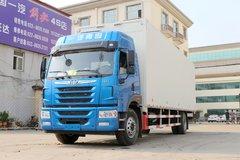 青岛解放 龙VH中卡 220马力 4X2 9.65米厢式载货车(CA5189XXYPK2L7E5A80) 卡车图片