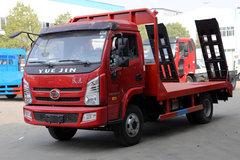 上汽跃进 开拓X500 110马力 4X2 平板运输车(HCQ5041TPBNJ5)