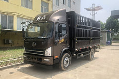 解放 虎VH 160马力 4.21米单排仓栅式轻卡(CA5123CCYP40K2L1E5A84) 卡车图片