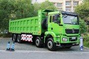 陕汽重卡 德龙新M3000 8X4 8米纯电动自卸车