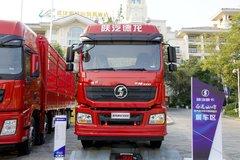 陕汽重卡 新德龙M3000 轻量化版 400马力 6X4 LNG牵引车(SX4258GU384CTL)