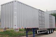 大运 13.75米厢式半挂车