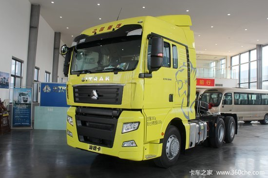 中国重汽 汕德卡SITRAK C7H重卡 智能版 540马力 6X4自动挡牵引车(AMT手自一体)(ZZ4256V324HE1B)