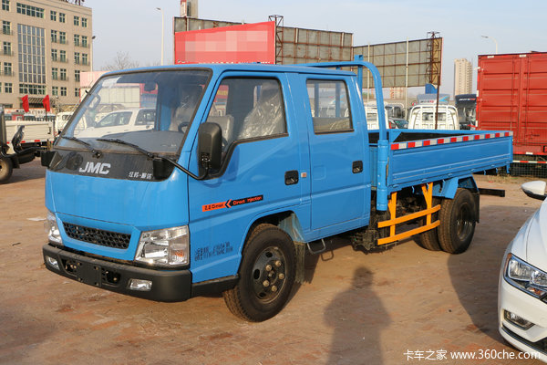 江铃 顺达窄体 普通款 116马力 3.265米双排栏板轻卡(JX1041TSG25)