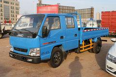 江铃 顺达窄体 普通款 116马力 3.265米双排栏板轻卡(JX1041TSG25) 卡车图片