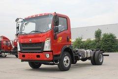 中国重汽HOWO 统帅 160马力 4.165米单排栏板轻卡(ZZ1047F341CE145)