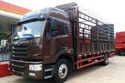 青岛解放 龙VH中卡 180马力 4X2 6.75米仓栅式载货车(CA5189CCYPK2L2E5A80)