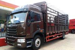 青岛解放 龙VH中卡 180马力 4X2 6.75米仓栅式载货车(CA5189CCYPK2L2E5A80)图片