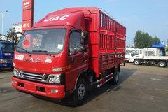 江淮 骏铃V6 170马力 4.18米单排仓栅式轻卡(HFC5043CCYP91K9C2V) 卡车图片