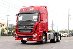 四川现代 Xcient创虎重卡 520马力 6X4牵引车(AMT)(CHM4251KPQ49V)