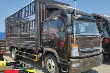 中国重汽HOWO 悍将 170马力 5.75米排半仓栅轻卡(ZZ5147CCYH451CE1)