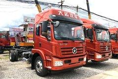 大运 风驰中卡 220马力 4X2 6.75米排半仓栅中卡(DYQ5180CCYD5AB) 卡车图片